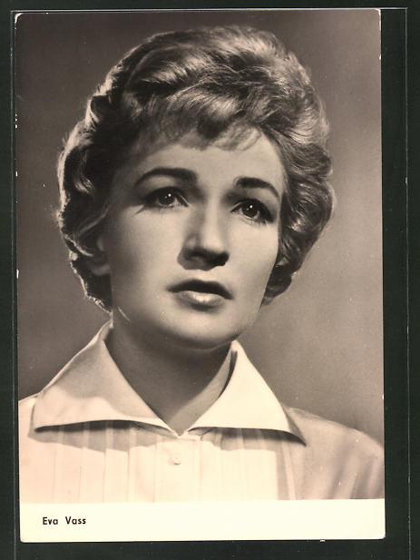 AK Schauspielerin Eva Vass spielte u.a. im Film
