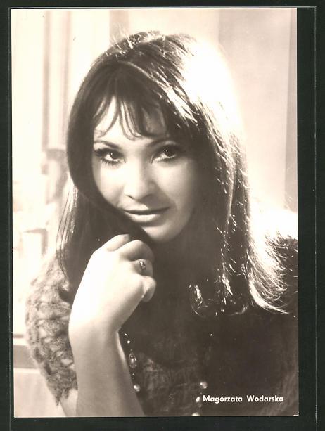 AK Schauspielerin Magorzata Wodarska spielte u.a. im Film