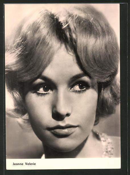 AK Schauspielerin Jeanne Valerie spielte im Film