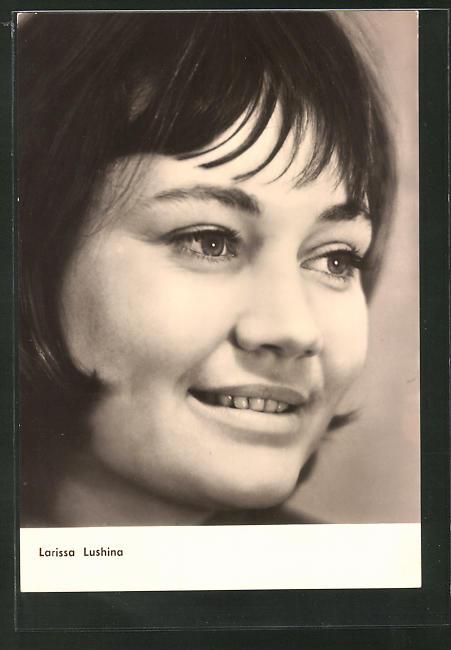 AK Schauspielerin Larissa Lushina spielte im Film