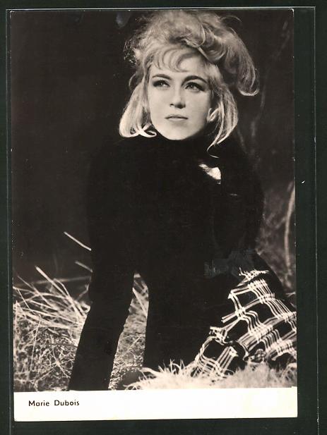 AK Schauspielerin Marie Dubois spielte im Film