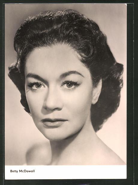 AK Schauspielerin Betty McDowall spielte im Film