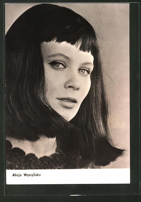 AK Schauspielerin Alicja Wyszynska spielte im Film