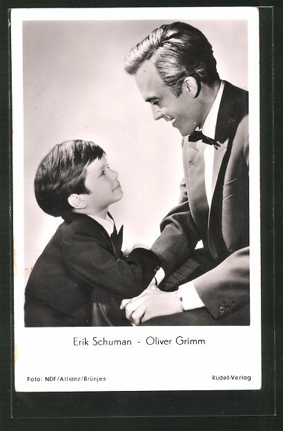 AK Schauspieler Erik Schuman und Oliver Grimm in