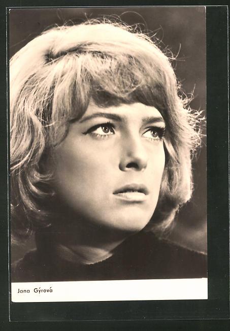 AK Schauspielerin Jana Gyrovà spielte im Film