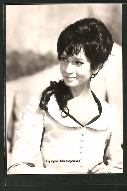 AK Schauspielerin Krystyna Mikolajewska spielte im Film