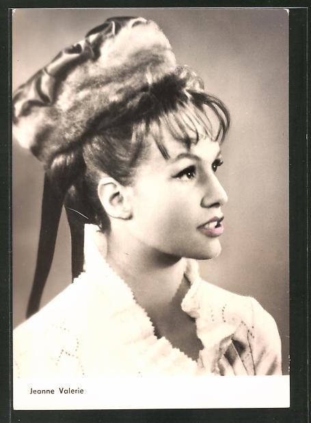 AK Schauspielerin Jeanne Valerie spielte u.a. im Film