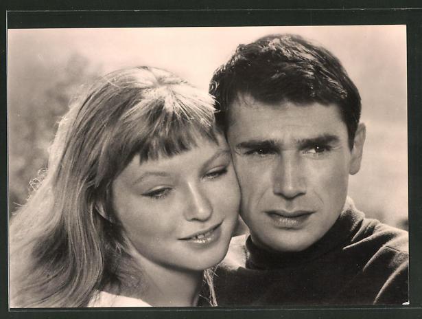 AK Schauspieler Marina Vlady und Robert Hossein im Film