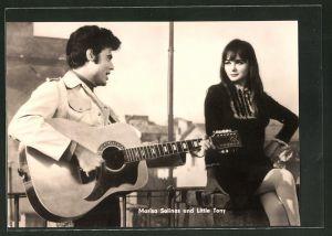 AK Schauspieler Marisa Solinas und Little Tony im Film