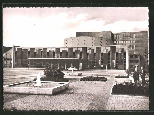 AK Kassel, Blick zum Theater