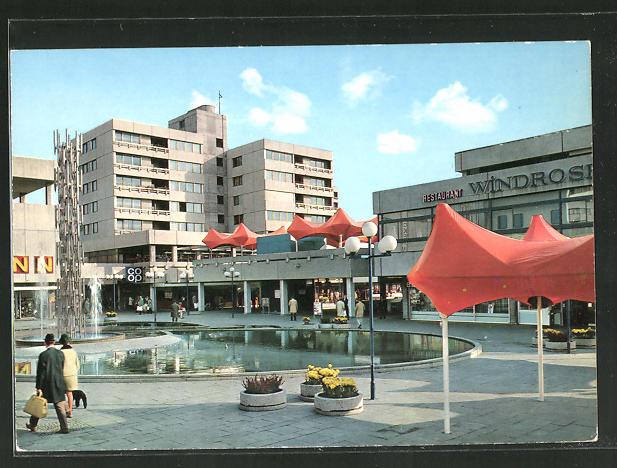 AK Frankfurt am Main, Einkaufszentrum in Nordwest-Stadt