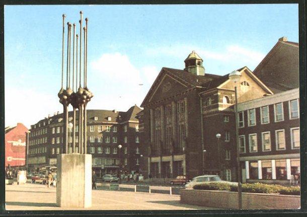AK Hagen, Blick zum Stadttheater