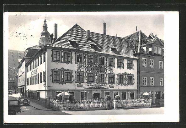 AK Coburg, Gasthaus