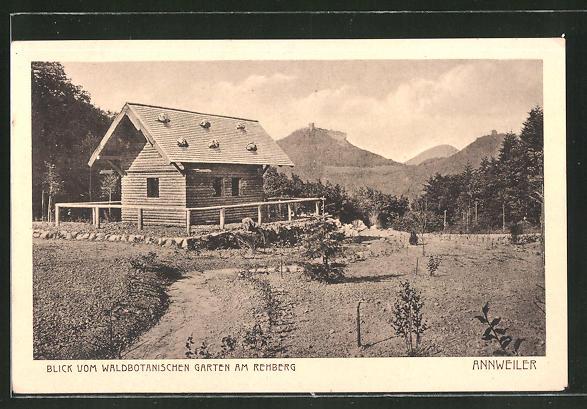 AK Annweiler, Blick vom Botanischen Garten am Rehberg 0