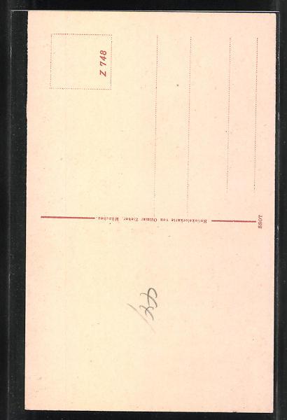 AK Münster i. W., Hammerstrasse, Bahnhof, Dom, Rathaus, Stadtweinhaus, Königl., Schloss Totalansicht, Stadthaus 1
