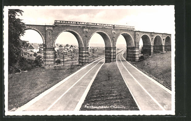 AK Reichsautobahn Chemnitz, Viadukt