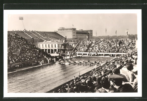 AK Leipzig, II. Deutsches Turn- und Sportfest 1956, Sportforum - Schwimmstadion
