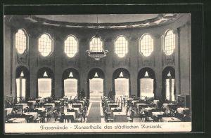 AK Travemünde, Konzerthalle des städtischen Kursaals