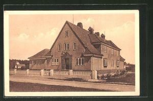 AK Travemünde, Jugendherberge auf dem Priwall, Eigenheim der Ortsgruppe Lübeck