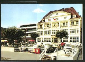 Klapp-AK Lübeck-Travemünde, Hotel Deutscher Kaiser, verschiedene Ansichten