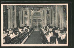 AK Berlin, Restaurant Weinstuben Kempinski, Leipziger Strasse, Cadiner Saal