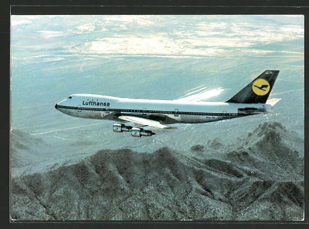 AK Lufthansa Boeing Jet 747