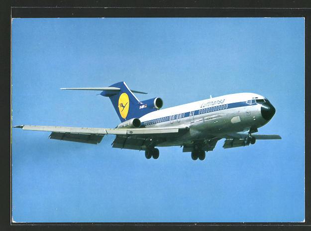 AK Lufthansa Boeing 727 Europa Jet