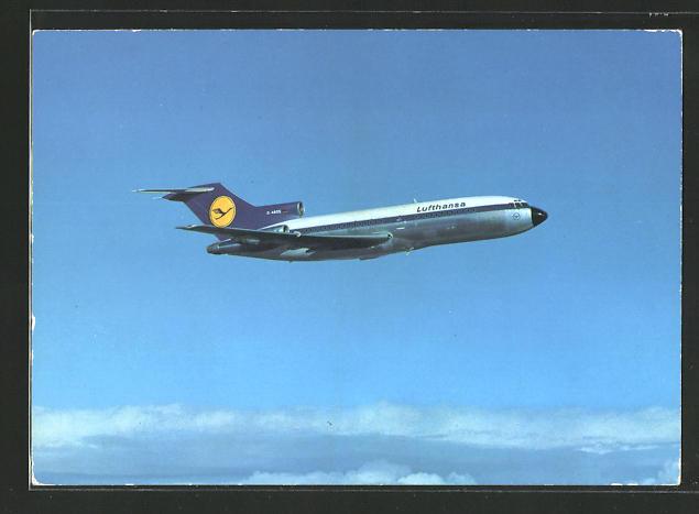 AK Lufthansa Boeing 727 Europa Jet in der Luft