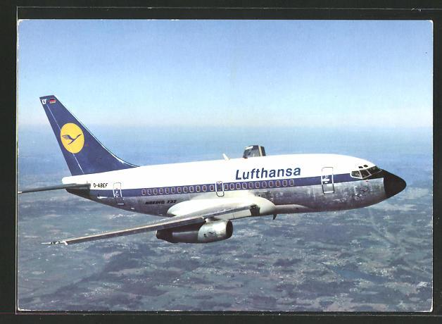AK Lufthansa Boeing 737 City Jet am Himmel