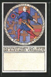 AK Wilhelmshaven, Nagelung eines Reliefs zu Gunsten der Kriegshilfe
