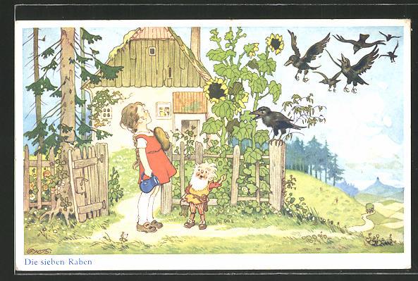 Künstler-AK Fritz Baumgarten: Aus dem Märchen