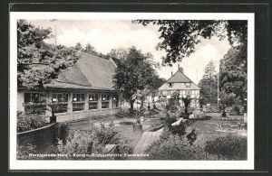 AK Wernigerode / Harz, Konsum-Grossgaststätte Storchmühle