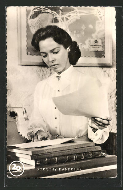 AK Schauspielerin Dorothy Dandridge im Film