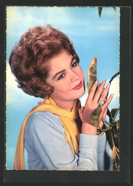 AK Schauspielerin Sandra Dee spielte u.a. im Film