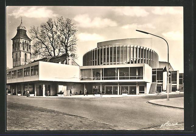 AK Münster, Das neue Theater