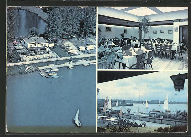 AK Hanau, drei Ansichten vom Restaurant