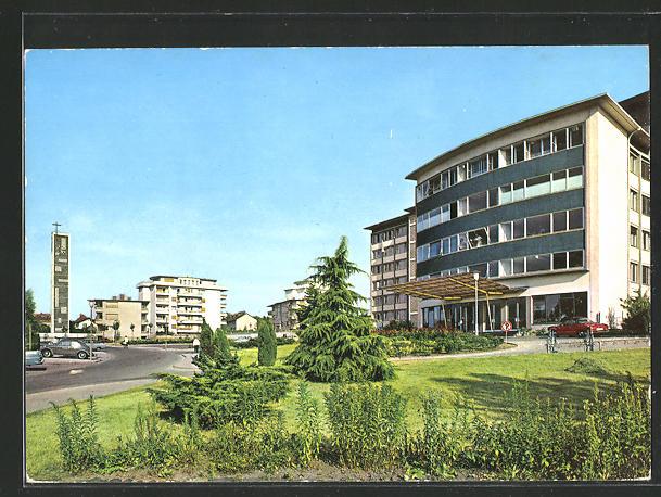 AK Offenbach am Main, Ketteler Krankenhaus und Markuskirche