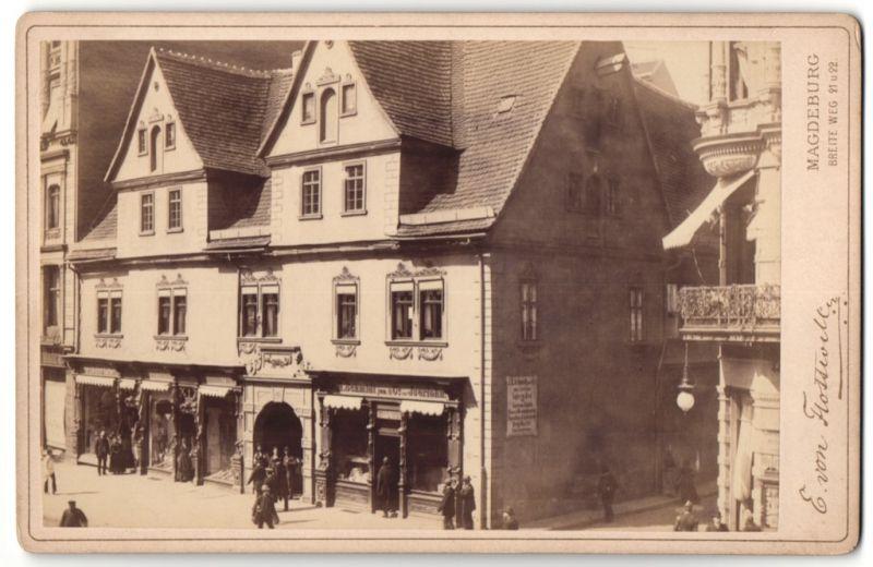 Fotografie E. von Flottwell, Magdeburg, Ansicht Magdeburg,