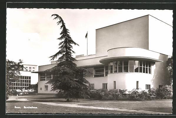AK Bonn, Bundeshaus im Bauhaus-Stil