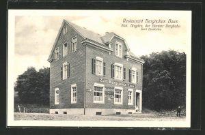 AK Birgden, Restaurant Bergisches Haus von Emil Diederich