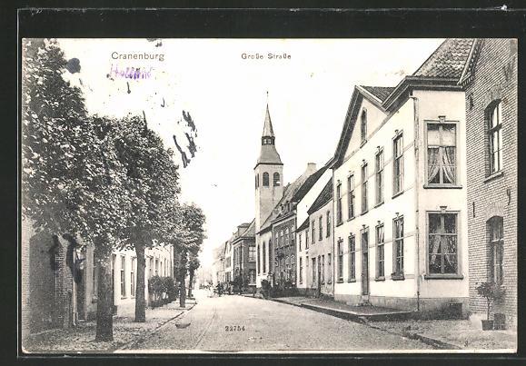 AK Cranenburg, Partie in der Grossen Strasse