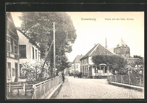 AK Cranenburg, Partie mit der kath. Kirche