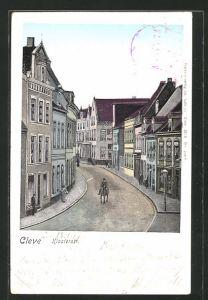 AK Cleve, Reiter in der Klosterstrasse