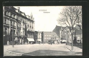 AK Steele, Central Bazar am Grendplatz