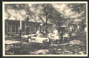 AK Düsseldorf-Rath, Cafe-Restaurant Fink