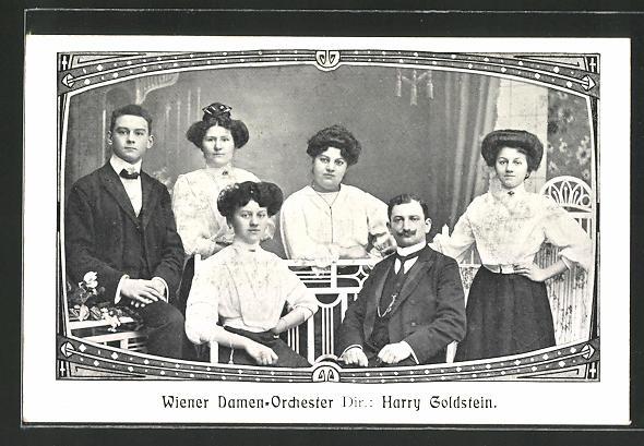 AK Wiener Damenorchester, Direktor Harry Goldstein