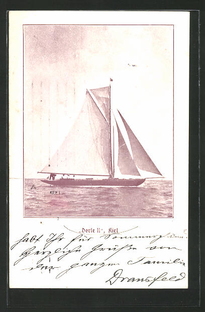 AK Kiel, Segelboot