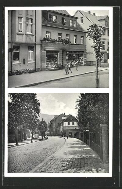 AK Werdohl i. W., Haushaltswarengeschäft Theodor Busch, Kaiserstrasse 38