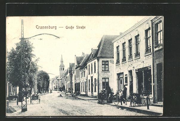 AK Cranenburg, Partie in der Grosse Strasse