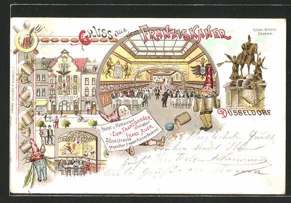 Lithographie Düsseldorf, Hotel & Restaurant